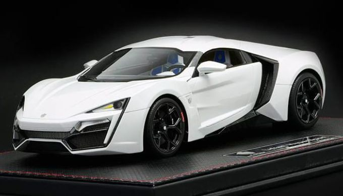 lykan hypersport 340万美元